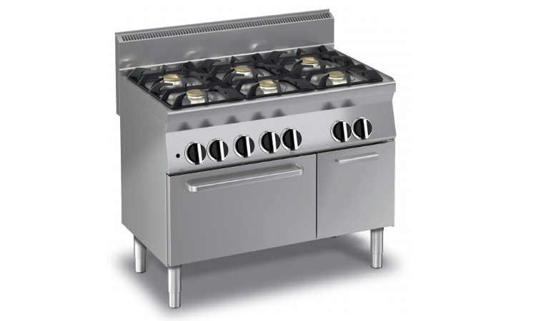 Ecg f cucina gas professionale fuochi forno a gas dfoods