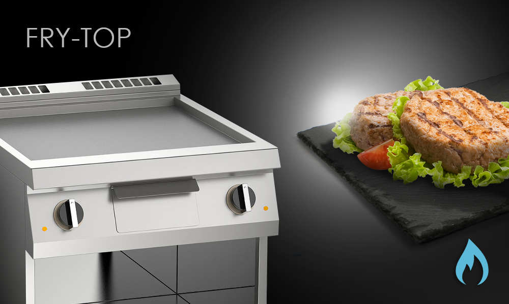 Fry-Top attrezzatura ristorante