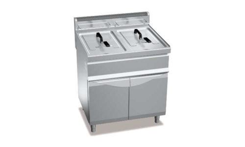 GL20+20M, friggitrice a gas 20+20 l su vano
