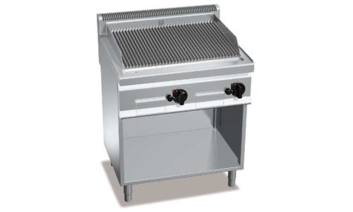 PLG80M/G, griglia pietralavica gas su vano