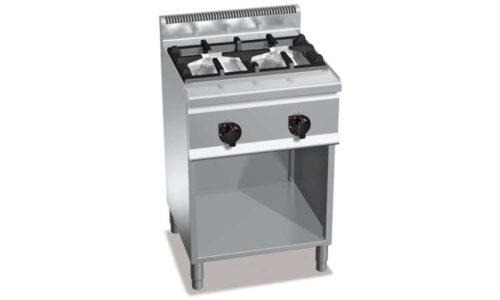 G6F2MH6, cucina a gas 2 fuochi su vano