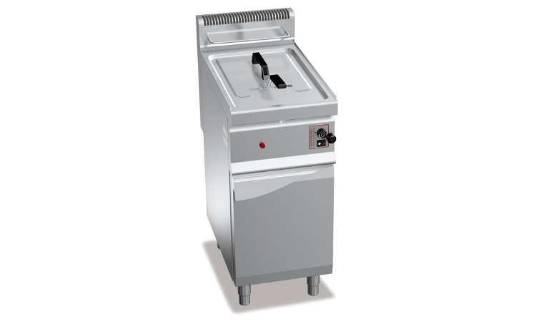 GL10M, friggitrice a gas 10 l su vano