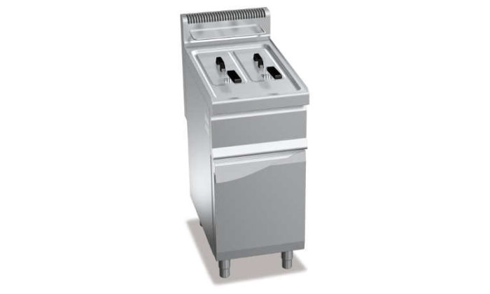GL7+7M, friggitrice a gas 7+7 l su vano