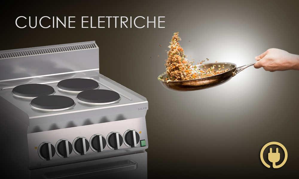 Cucine elettriche professionali per la ristorazione