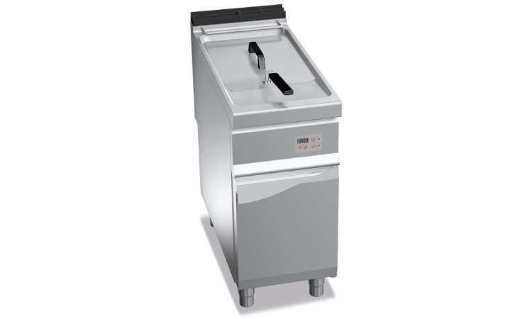 E9F22-4MEL, friggitrice elettrica 22 l su vano