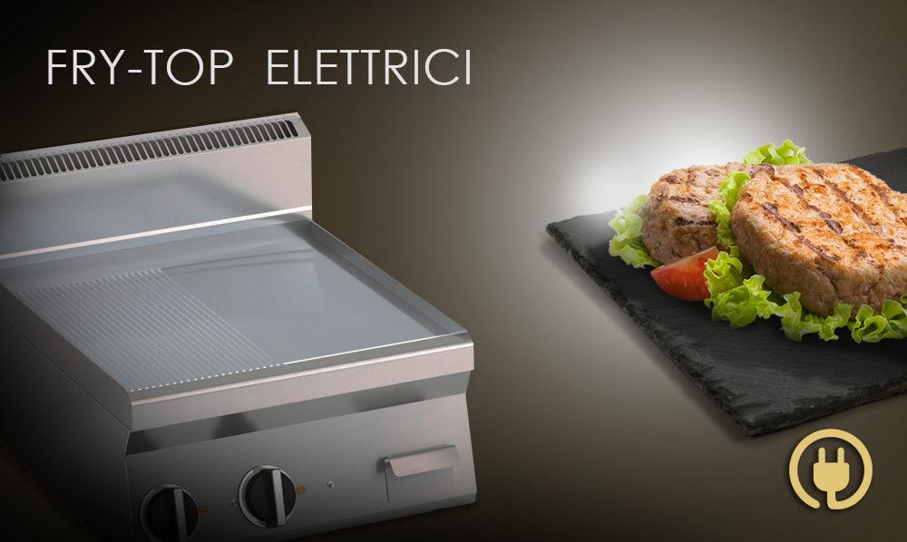 Fry Top elettrici