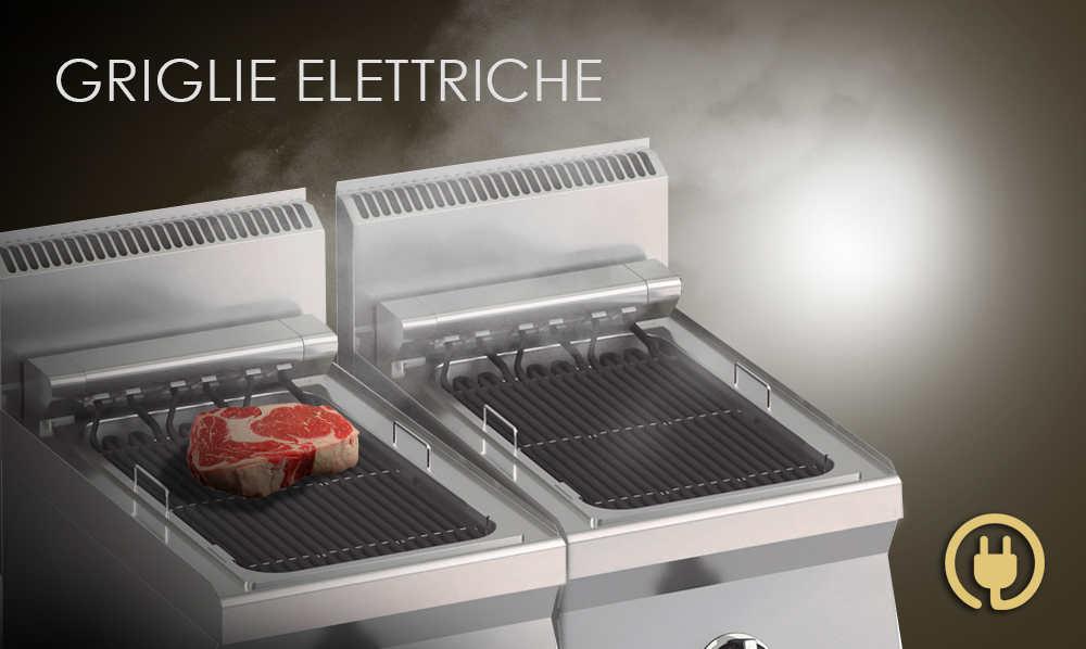 Griglie elettriche professionali per ristoranti