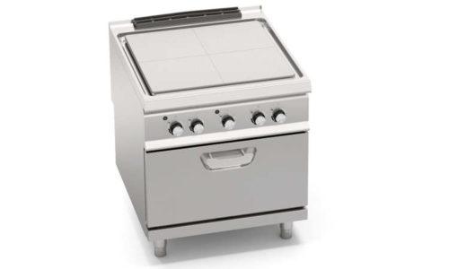 SE9TP+FE2, tuttapiastra elettrico su forno el. 1/1