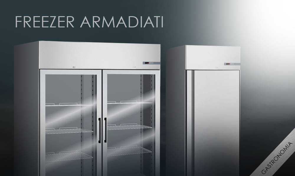 Freezer Armadiati professionali