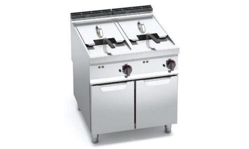 E9F22-8MS, friggitrice elettrica 22+22 litri su vano
