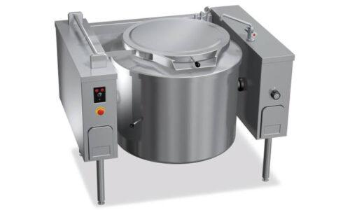 9P20IRV, pentola ribaltabile riscaldamento indiretto vapore 200 l