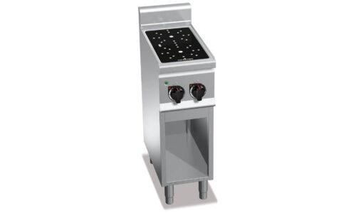 E6P2M/VTR, cucina infrarosso 2 zone su vano