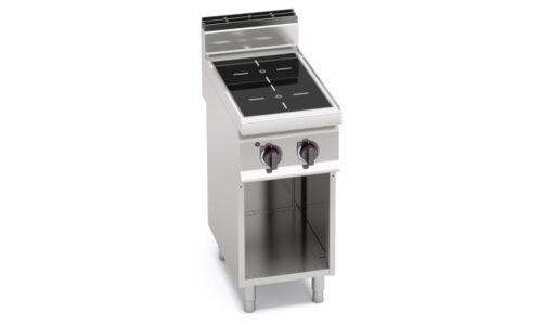 E7P2M/VTR, cucina infrarosso 2 zone su vano