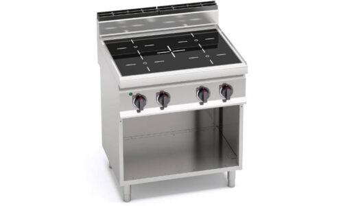 E7P4M/VTR, cucina infrarosso 4 zone su vano