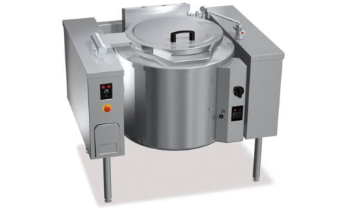 G9P10IR, pentola gas ribaltabile riscaldamento indiretto 100 l