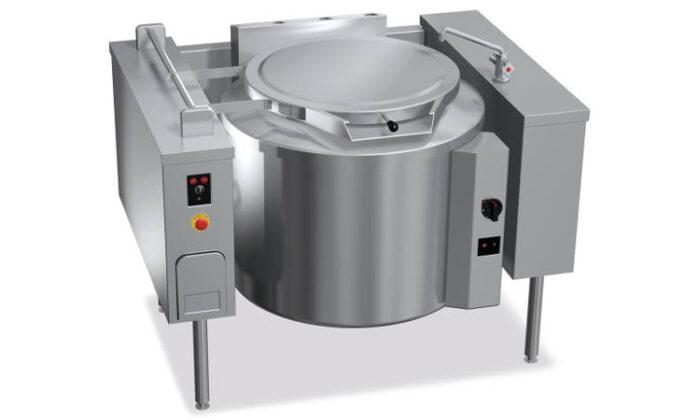 G9P20DR, pentola gas ribaltabile riscaldamento diretto 200 l