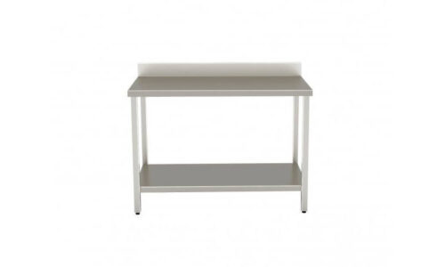 Tavolo con ripiano e alzatina, dimensioni 1400*700