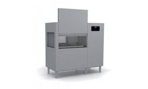 EVO201, lavastoviglie a traino con cesto 500*500